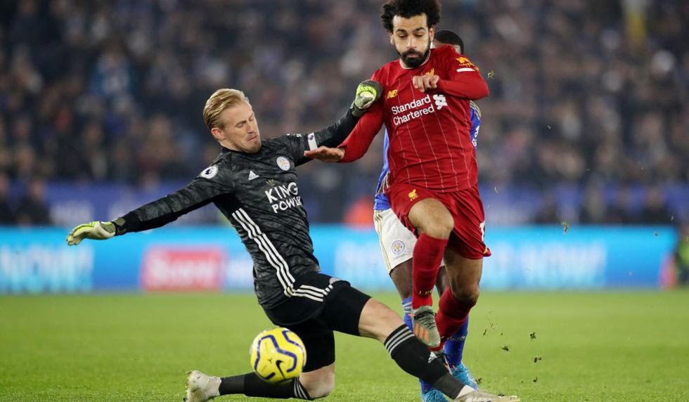 Liverpool vs. Leicester City por la Premier League. (Foto: Reuters)