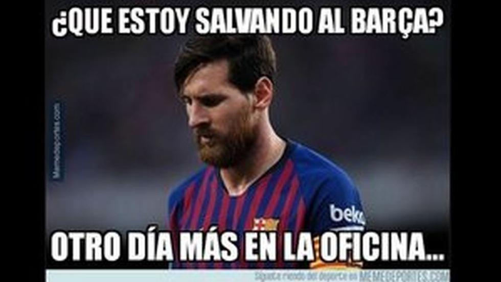 Facebook | Barcelona vs. Rayo Vallecano: los hilarantes memes de la victoria blaugrana por Liga.