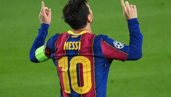 Lionel Messi fue al autor del primer gol para la victoria del Barcelona sobre Ferencváros por Champions League. (Foto: AFP)