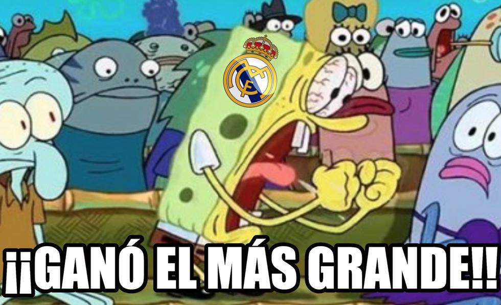 Memes se burlan del triunfo del Real Madrid frente al Barcelona