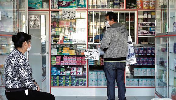 Digemid indicó que se están realizando inspecciones a diversos laboratorios y droguerías que comercializan productos para el tratamiento del coronavirus. (Foto: GEC)