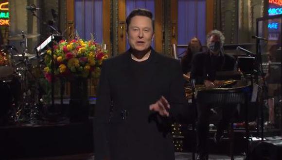 Elon Musk reveló en Saturday Night Live que tiene el síndrome de Asperger. (Foto: captura de video)