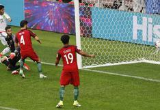 México abrió el marcador ante Portugal gracias a autogol de Neto