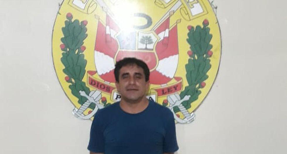Nelo Pérez, de 40 años, fue detenido el viernes 10 de enero por agredir físicamente a Magdalena Saavedra Barco, de 43 años, dentro de su domicilio (Foto: PNP)