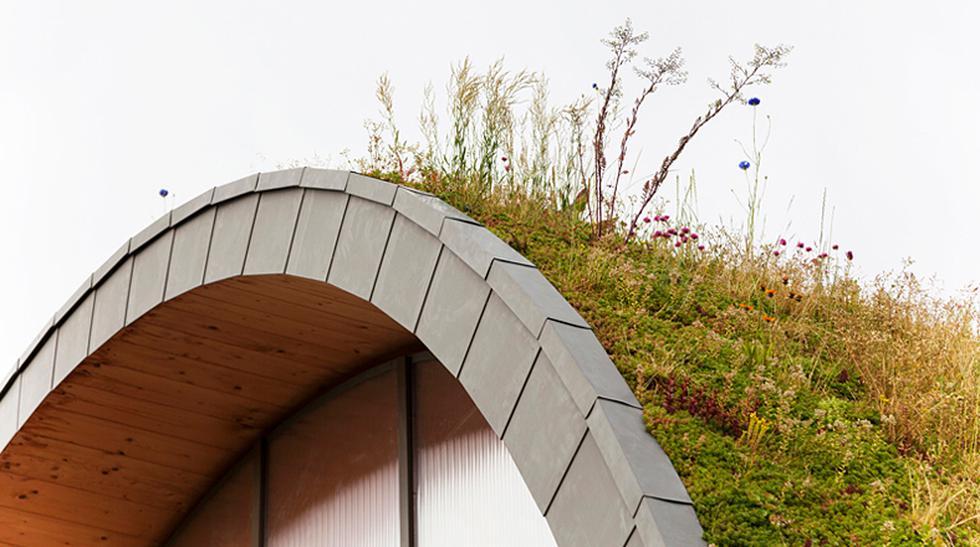 ¿Una casa o una colina? Mira esta inusual vivienda en Francia - 3