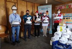 Cerca de 500 kilos de alimentos fueron entregados a ollas comunes de Ticlio Chico y Nuevo Milenio en VMT