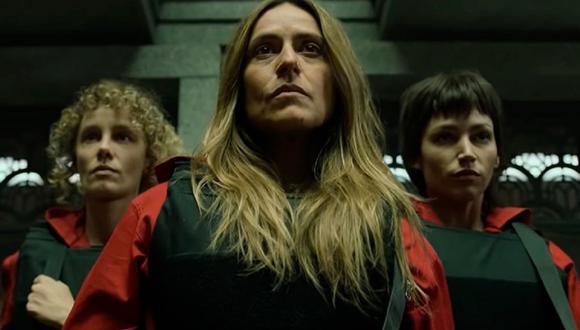 "Al final de la primera parte de la temporada final de ""La casa de papel"" se reveló la identidad del 'quinto caído' (Foto: Netflix)"