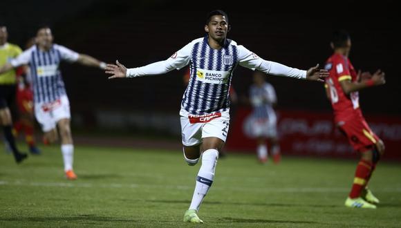 Alianza venció 3-0 a Huancayo con doblete de Kevin Quevedo   VIDEO. (Foto: Violeta Ayasta)