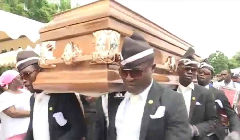 """Los videos de """"Coffin meme"""" se han vuelto populares en las redes sociales. (Captura video de YouTube)"""