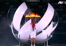 Naomi Osaka encendió la antorcha olímpica y dio inicio a los Juegos Tokio 2020 [VIDEO]