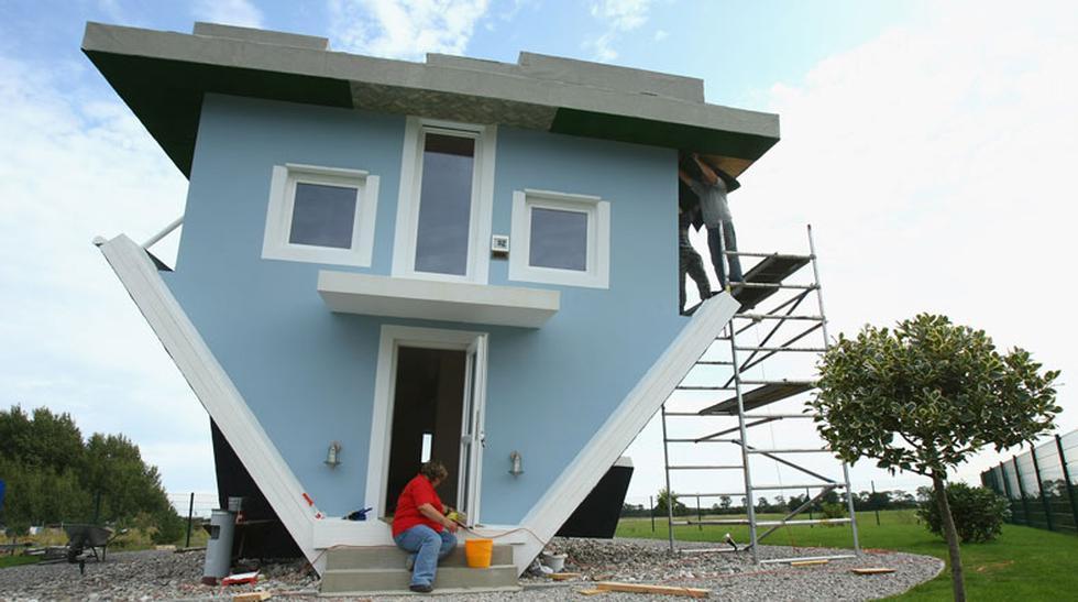 Mira esta vivienda construida al revés en Alemania  - 1