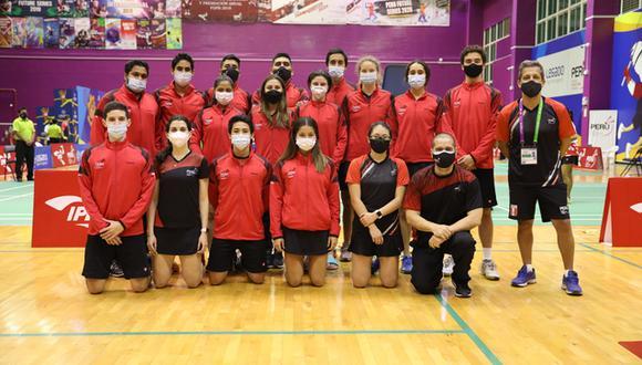 Los principales deportistas de la Federación Peruana de Bádminton pertenecen al Programa de Apoyo al Deportista (PAD) y al Programa Vamos con Tokio del IPD. (Foto: IPD)