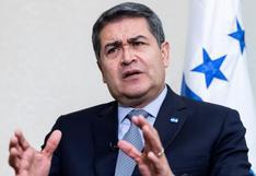 """""""No soy amigo"""" de narcos, dice presidente de Honduras, investigado en EE.UU."""