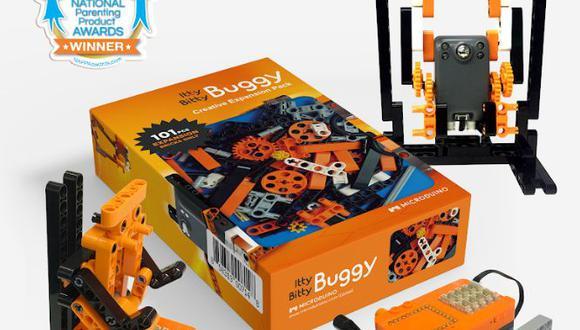 Microduino son juegos de piezas de robótica que se venden desde este año en Lima.