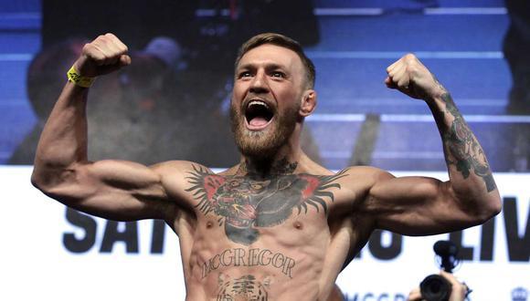 Pelea de Conor McGregor se realizará en la isla privada de UFC en enero del 2021. (Foto: AFP)