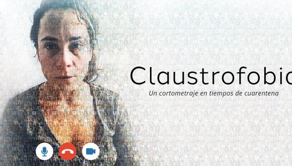 Claustrofobia, cortometraje peruano grabado con 50 actores en medio de la cuarentena. (Foto: Difusión)