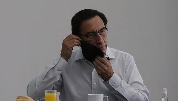 Martín Vizcarra tuvo un desayuno con otros candidatos de Somos Perú. (Andrés Paredes / GEC)