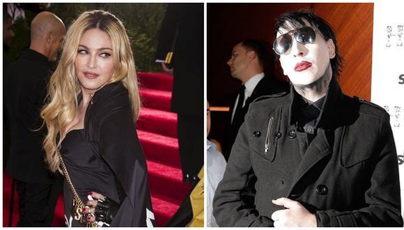 Madonna respondió así a confesiones de Marilyn Manson