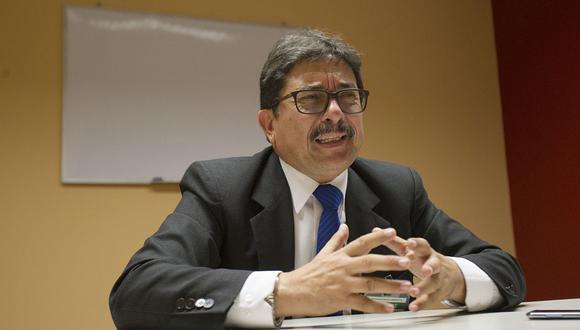 """Enrique Cornejo rechazó rumores que apuntan a que sería el candidato de APP a la alcaldía de Lima. """"Esas son informaciones falsas"""", remarcó. (Foto: El Comercio)"""