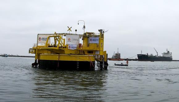 La monoboya se ubica en la cuarta estación marítima. (Foto: Repsol)
