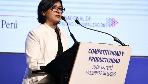 Ministra de Trabajo y Promoción del Empleo, Sylvia Cáceres. (Foto: Andina)