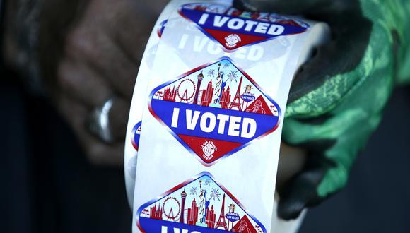 Millones de personas ya han votado de manera anticipada en diversos estados. La fecha central de los comicios es el 3 de noviembre. (AP)