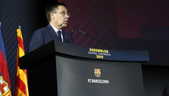 Josep María Bartomeu, presidente del Barcelona. (Foto: EFE)