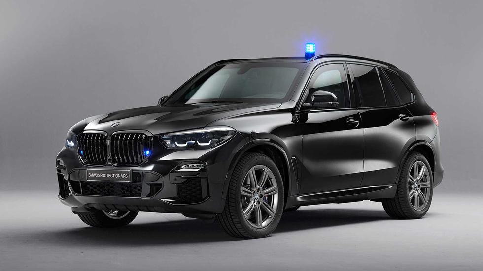 El BMW X5 Protection VR6 2019 ofrece una seguridad extrema sin perder el confort y potencia de la SUV alemana. (Fotos: BMW).