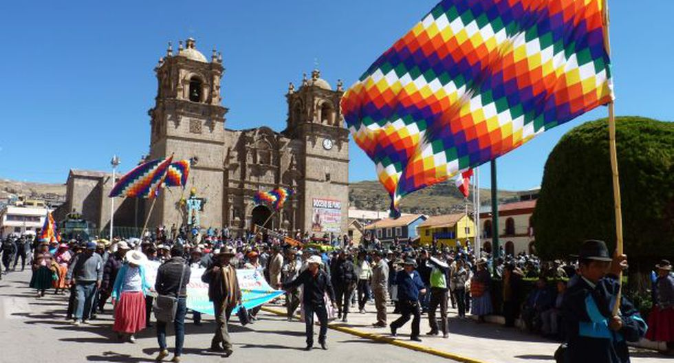 Pobladores de Puno suspenden  paro regional de 48 horas