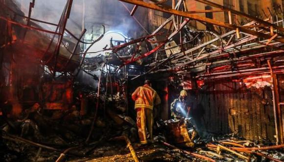 Instalaciones nucleares, refinerías de petróleo, plantas de energía e importantes fábricas por todo el país han sido objeto de explosiones e incendios en meses recientes. (AFP).