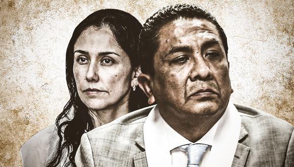 El juez Juan Carlos Sánchez Balbuena deberá decidir si ordena o no la prisión preventiva contra la exprimera dama Nadine Heredia, por el caso Gasoducto Sur. (Composición/El Comercio)