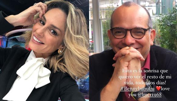 Mávila Huertas confirma que tiene una relación con el exministro de Economía Luis Miguel Castilla. (Foto: @mavilahuertas)