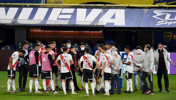 River Plate quedó eliminado de la Copa de la Liga Profesional a manos de Boca Juniors. (Foto: Reuters)