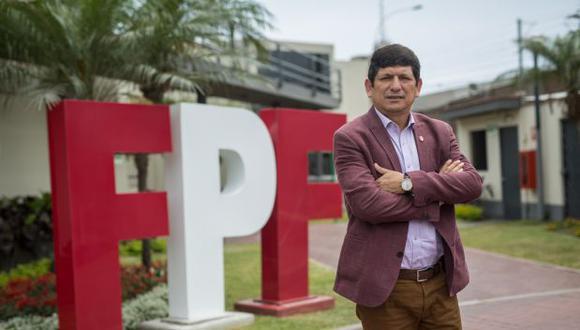 Agustín Lozano asumió la presidencia de la Federación Peruana de Fútbol a inicios del año 2019. Son 15 meses que lleva en el cargo. (Foto: Anthony Niño de Guzmán)