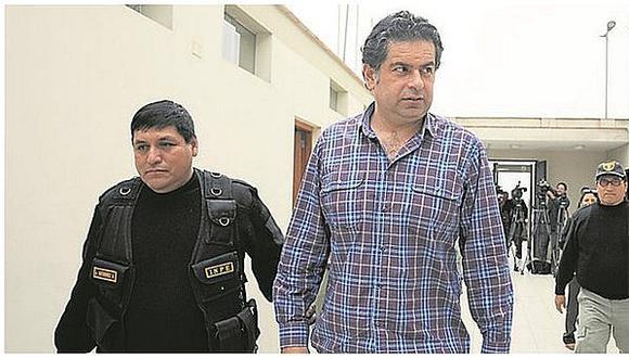 Martín Belaúnde Lossio cumple prisión preventiva en el penal de Ancón.