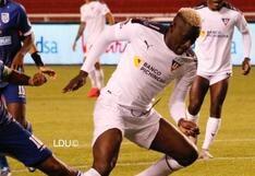 LDU de Quito venció 4-2 a 9 de Octubre por la LigaPro 2021