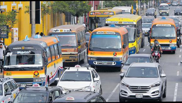 El MTC contempla destinar S/7 millones adicionales para reforzar la fiscalización y supervisión del transporte público. (Alonso Chero / GEC)