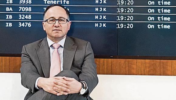 """Gallego: """"Para Iberia, el mercado peruano es muy importante"""""""