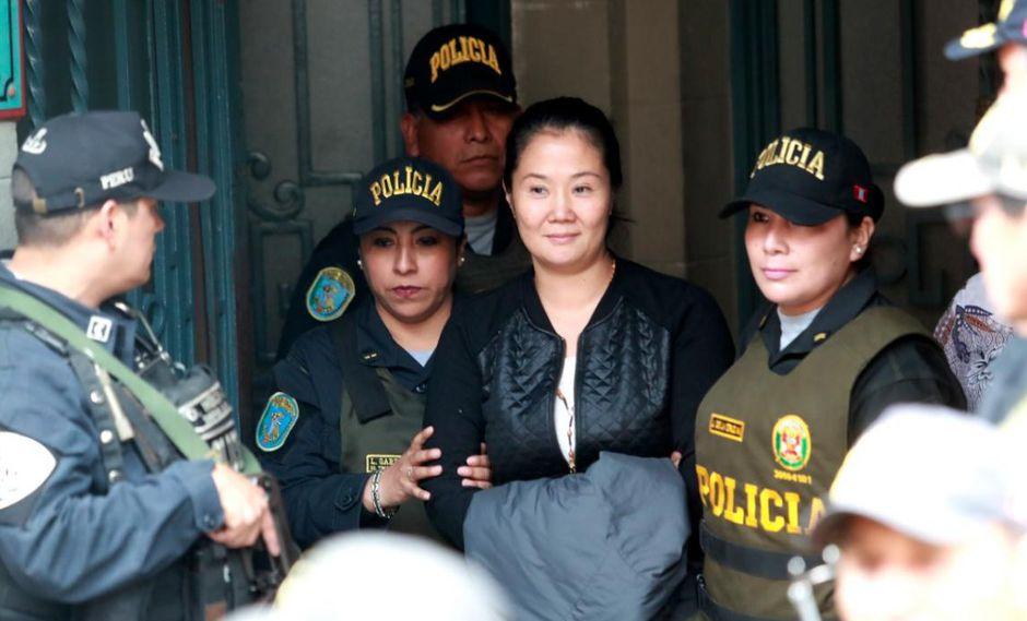 Keiko Fujimori permanece desde el pasado 1 de noviembre en el penal Anexo de Mujeres de Chorrillos. (Foto: Alessandro Currarino / El Comercio)