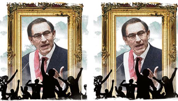 """""""El presidente está a tiempo de desistir del despropósito, buscar activamente el diálogo y forjar consensos"""". (Ilustración: Rolando Pinillos)"""