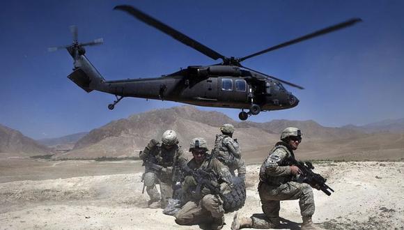 Lockheed Martin es el fabricante de los helicópteros Blackhawk usados por las fuerzas estadounidenses en Afganistán. (Getty Images).