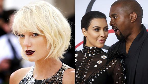 Taylor Swift podría demandar a Kanye West y Kim Kardashian
