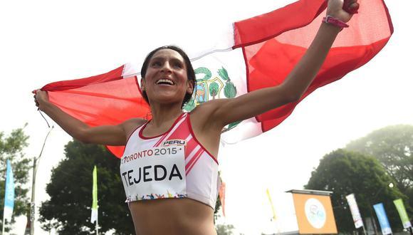 Gladys Tejeda participará este fin de semana en la maratón femenina de los Juegos Olímpicos de Tokio 2020. (Foto: Archivo El Comercio)