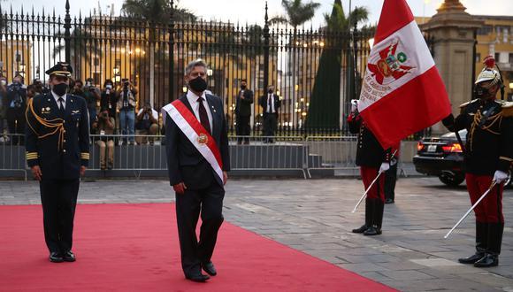 """""""No tenemos que emitir ninguna opinión sobre la forma en que actúa el Poder Judicial en todas sus ramas"""", afirmó Francisco Sagasti (Foto: El Comercio)"""