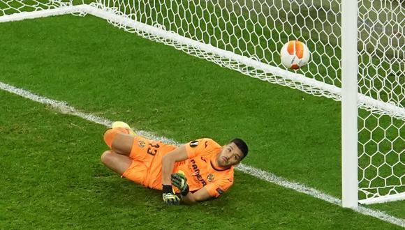 Villarreal campeón: mira la hilarante reacción de Mr. Chip ante el penal atajado por Rulli   FOTO