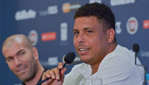 Ronaldo jugó en Real Madrid entre 2002 y 2007. (Foto: AFP)