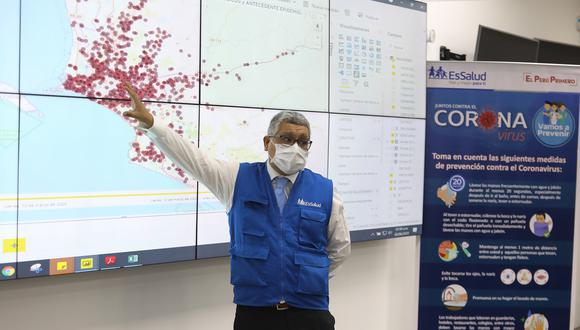 El 'mapa del calor' de EsSalud reveló que, las avenidas Óscar Benavides (ex Colonial), Brasil y Universitaria, situadas en los distritos de Lima y Callao, registran el mayor índice de casos de contagios. (Foto: EsSalud)
