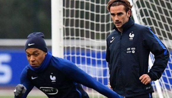 Mbappé: Antoine Griezmann pidió mucho cuidado con los elogios