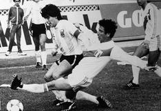 Luis Reyna vs. Maradona: solo once faltas en dos partidos para controlar al 'D10s' del fútbol