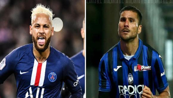 PSG vs. Atalanta dan inicio hoy miércoles 12 de agosto a los cuartos de final de la Champions League en Lisboa | Foto: Facebook PSG - Paris Saint - Germain / Atalanta.it
